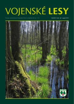 júl - august 2011 - Vojenské lesy a majetky SR, š.p.