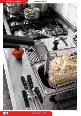 Katalóg stolných zariadení – fritézy, variče, hot-dog, mikrovlnky