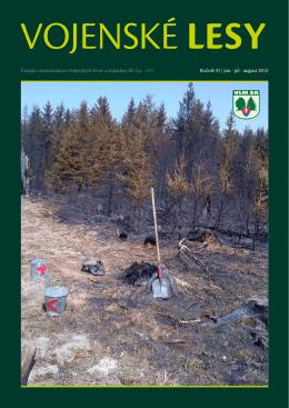 júl - august 2012 - Vojenské lesy a majetky SR, š.p.