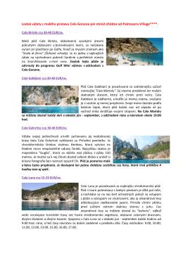 Lodné výlety z malého prístavu Cala Gonone pár minút - FIRO-tour