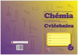 Ukážka z cvičebnice Chémia pre 6.ročník ZŠ a 1.ročník gymnázií s