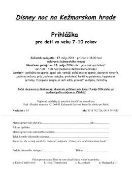 Odkaz pre stiahnutie prihlášky na noc na hrade [PDF]