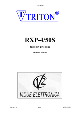 RXP-4/50S