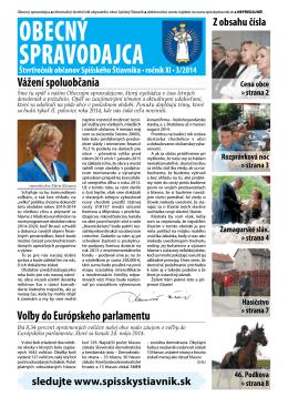 Obecný spravodajca 3/2014