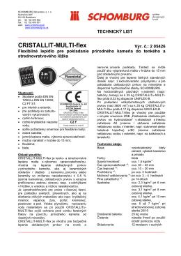 CRISTALLIT-MULTI-flex