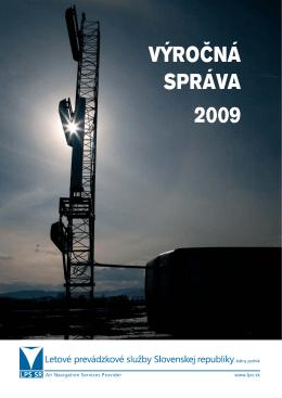 VÝROČNÁ SPRÁVA 2009