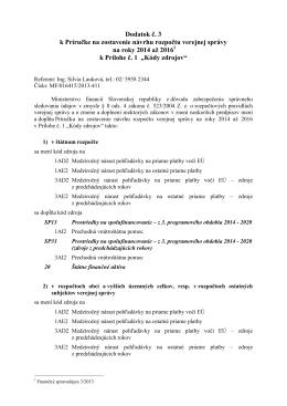 Finančný spravodajca 1/2014