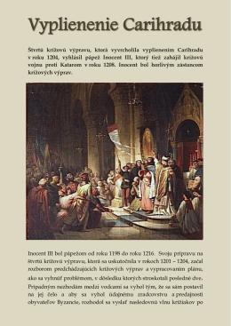 Vyplienenie Carihradu