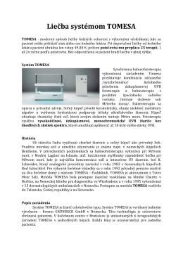 Liečba systémom TOMESA