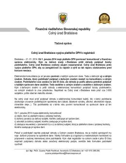 Finančné riaditeľstvo Slovenskej republiky