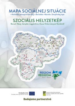 Mapa sociálnej situácie v Košickom samosprávnom kraji