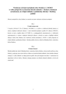 10/2013 - Obec Stráňavy