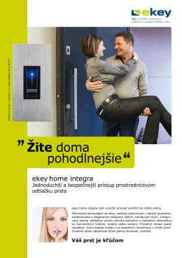 Žite doma pohodlnejšie
