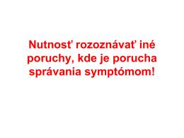 Bipolárna porucha u detí a adolescentov