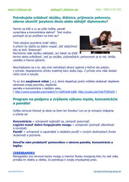 MAIL Pamäť, koncentrácia, učenie 1.h.pages
