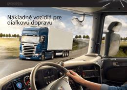Nákladné vozidlá pre diaľkovú dopravu