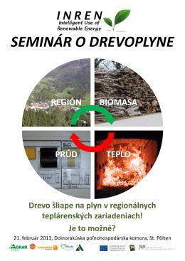 Seminar o drevoplyne