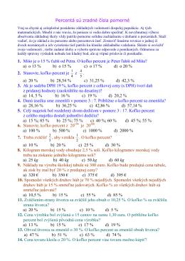 Percentá sú zradné čísla pomerné _test_