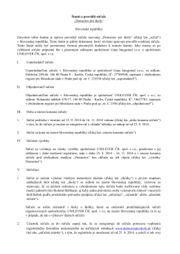 Stiahnuť pravidlá (PDF)