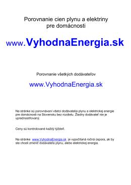 Skontrolujte si koľko platíte za elektrickú energiu