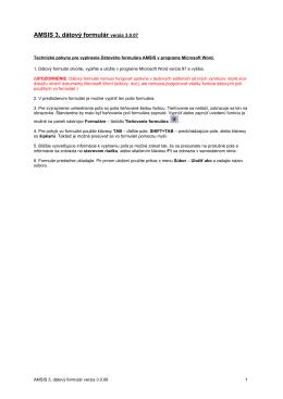 Výročná správa o činnosti Podpolianskeho múzea za rok 2013