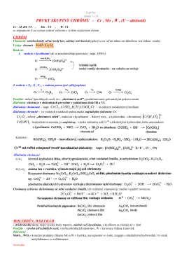 9. d - prvky
