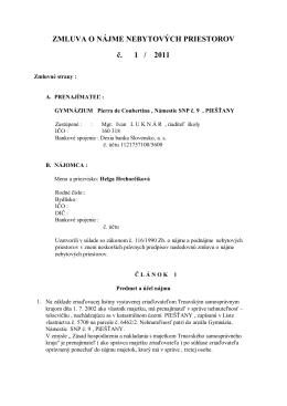 zmluva nová Hrehorčíková+príloha