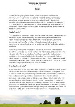 Design - LIKEdesign.sk