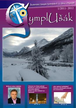 Študentský časopis Gymnázia P. U. Olivu v Poprade