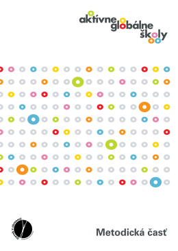Stiahnite si príručku - Globálne vzdelávanie.sk