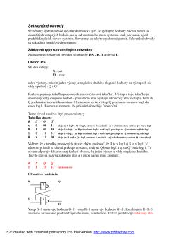 Sekvenčné obvody