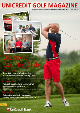 Magazín - UniCredit Golf Tour 2012