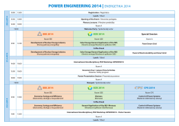 Program v PDF - POWER ENGINEERING 2014