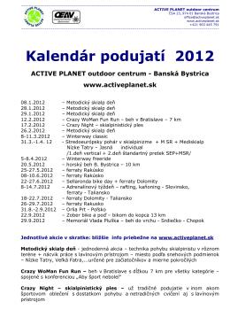 Kalendar 2012 New