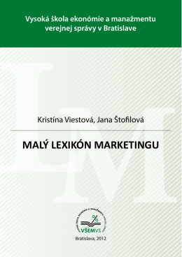 MALÝ LEXIKÓN MARKETINGU