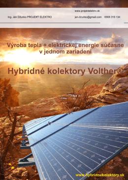 Hybridné kolektory Volther®