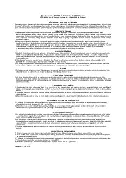 Všeobecné obchodné podmienky (.PDF)