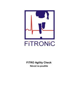 FiTRO Agility Check
