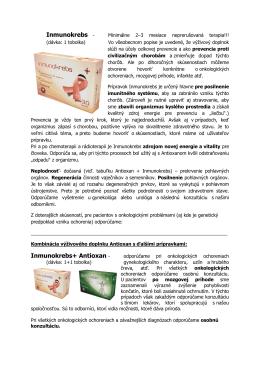 Inmunokrebs - Inmunokrebs+ Antioxan -