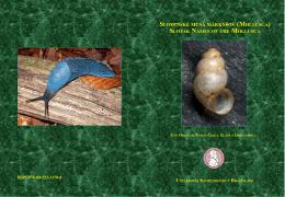 slovenské mená mäkkýšov (mollusca)