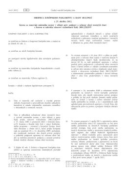 Smernica EP a rady 2012_29_EÚ z 25 10 2012