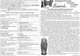 Farský list č. 146