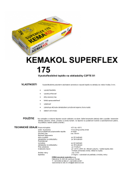 KEMAKOL SUPERFLEX 175