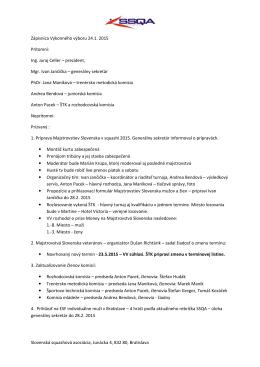 Zápisnica Výkonného výboru 21.2.2015 [PDF]