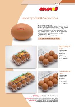 Begokon - Gazdovské vajcia