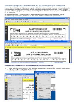 povolenie predpľňať údaje pre PDF súbory - MK-soft
