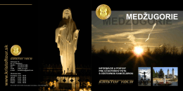 MEDŽUGORIE - Krištof tour