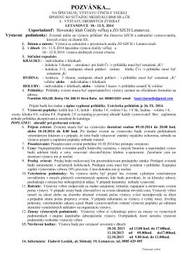 POZVÁNKA... - New Page 1