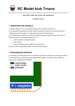 pdf – súbor - RC Model klub Trnava