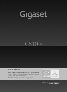 Gigaset C610 IP – Váš ideálny spoločník